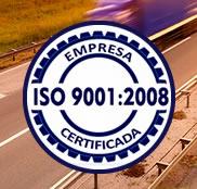 Grycamp Transportes conquista a Certificação ISO 9001:2008