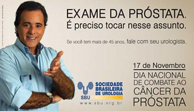 Novembro. Mês Mundial de combate ao Câncer de Próstata