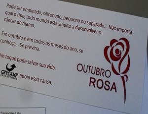 Outubro Rosa - Grycamp Transportes
